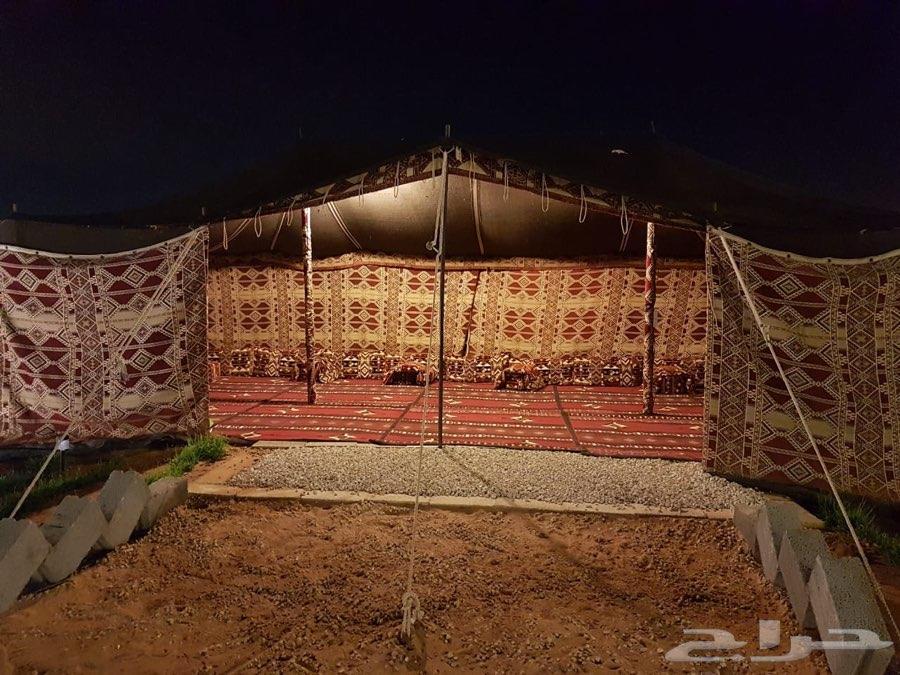 مخيم ملكي وفخم ومناسب للعائلات