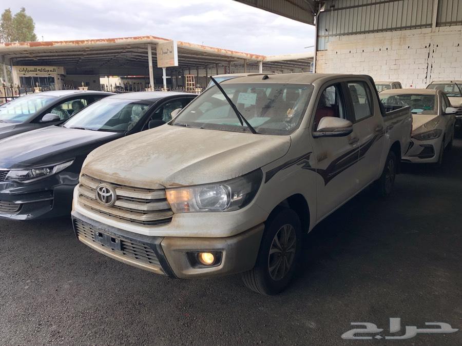 هايلكس 2018 GLX2 جنوط سعودي اقل سعر