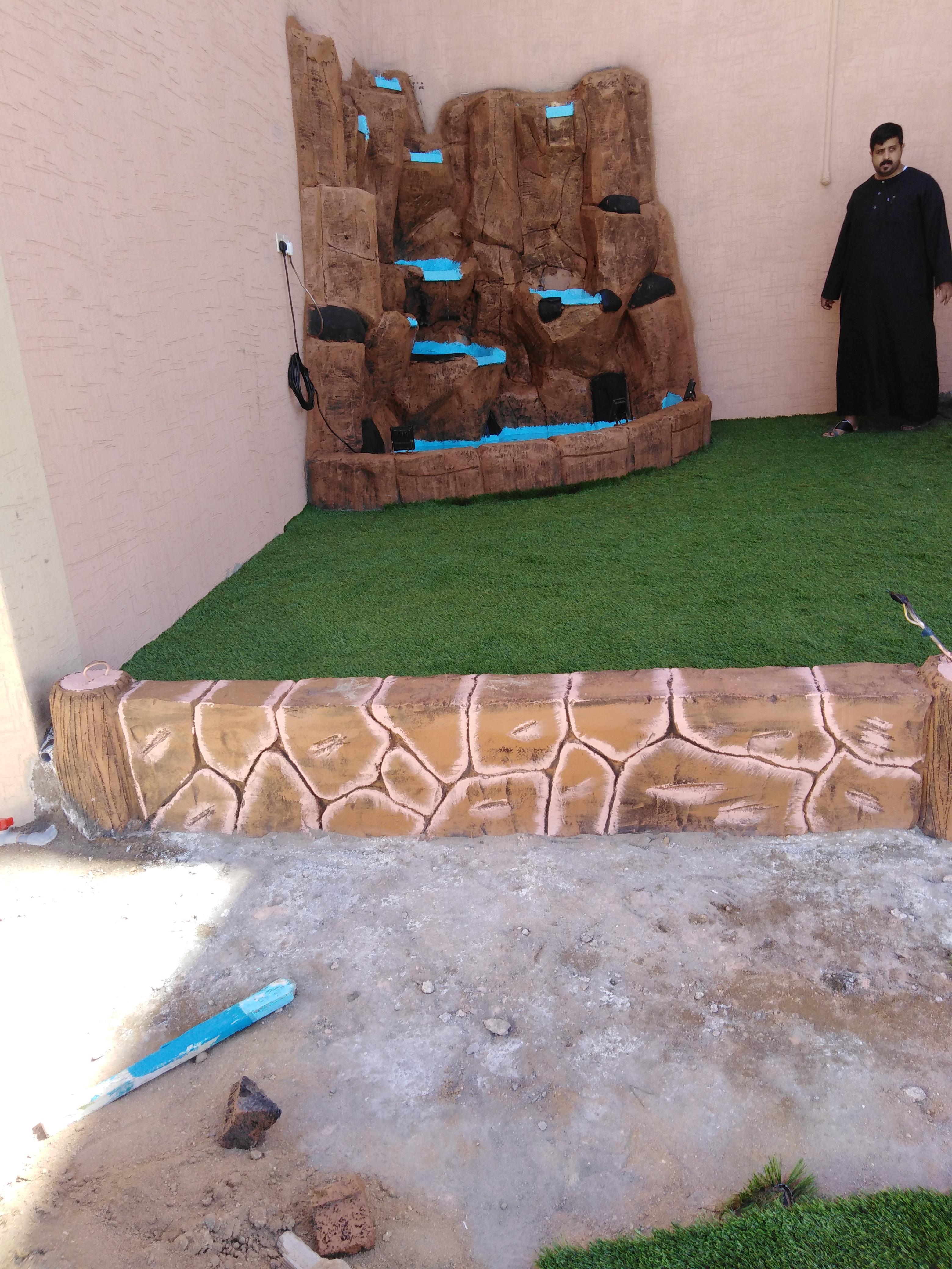 منسق حدائق ابو احمد