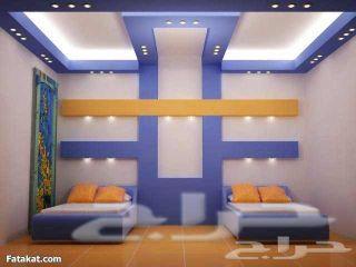 فني تركيب جبس مبورد أسقف وحوائط