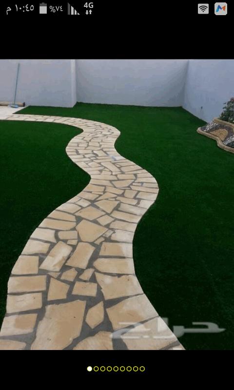 تنسيق حدائق واسطح واسترحات