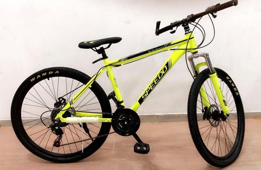 دراجات جبلي هيكل ألمنيوم speedo بسعر 599 فقط