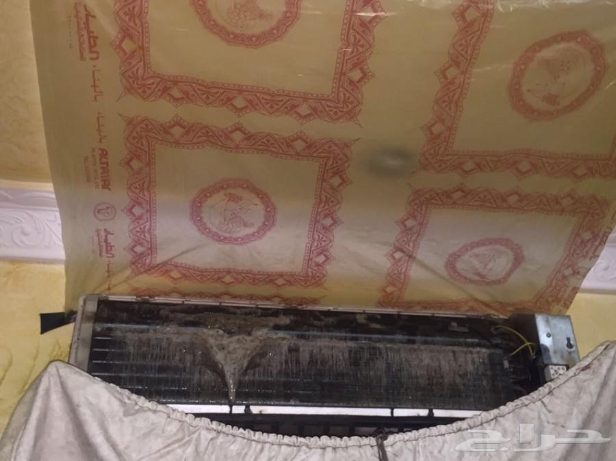 صيانة وغسيل وتنظيف مكيفات الاسبليت ب170ريال