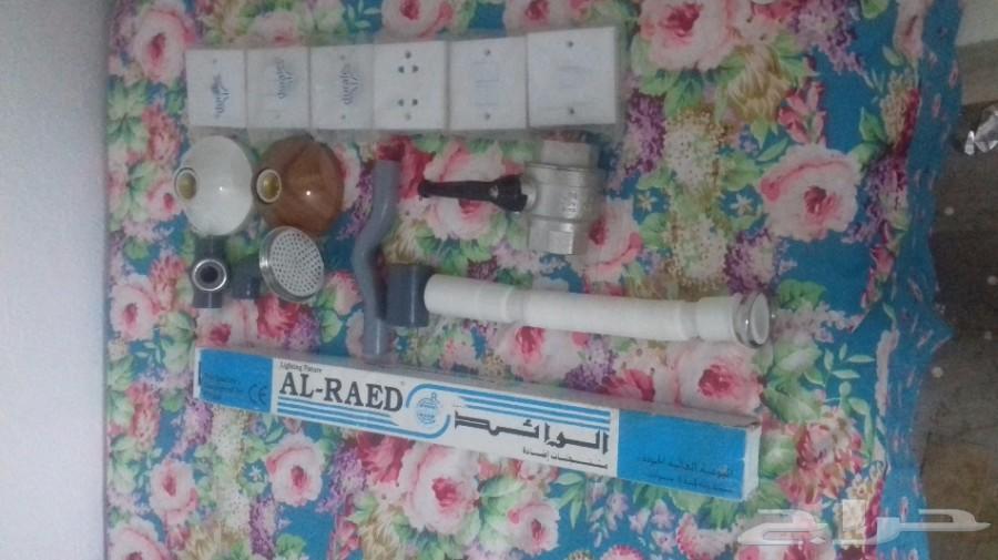 ادوات سباكه وكهرباء  للبيع جمله