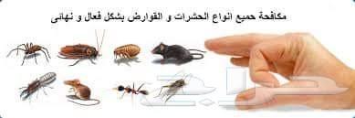 شركة الموده لتنظيف الخزانات ورش جميع الحشرات