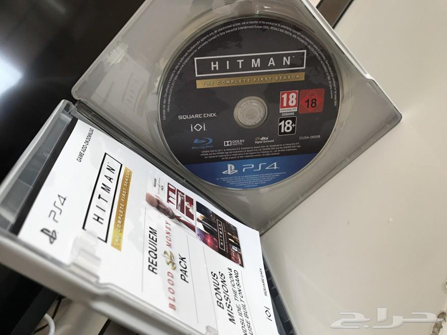 لعبة Hitman ps4