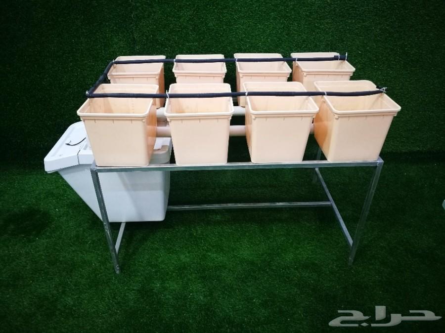 طاولة زراعة مائية نظام دتش بوكيت عدد 8 احواض