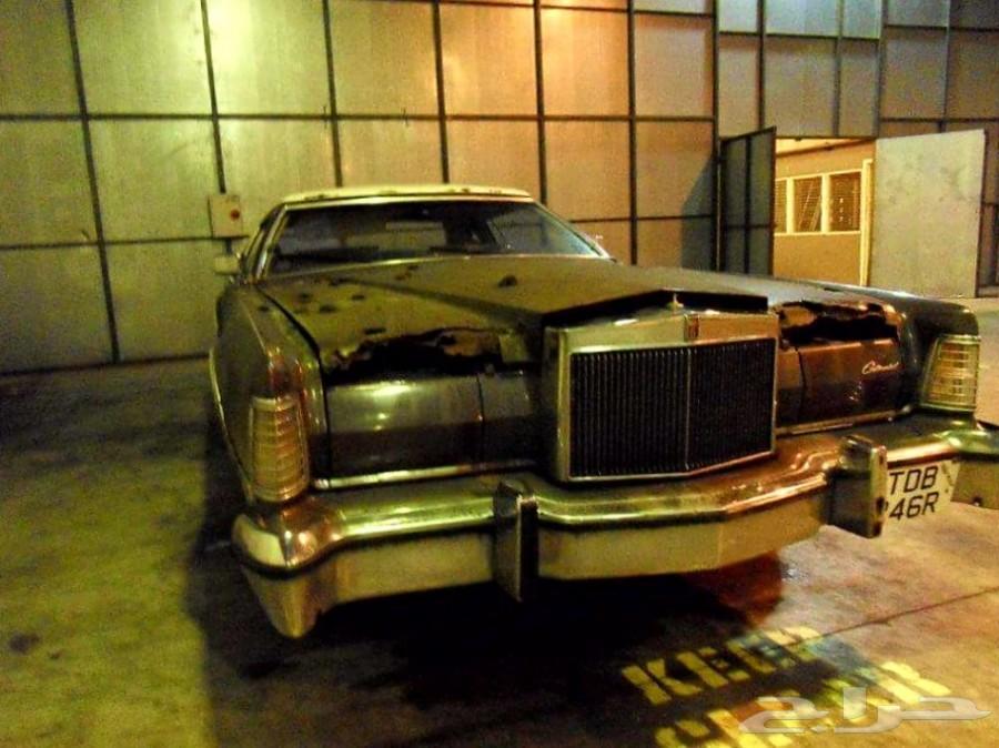 لنكولن كونتيننتال كوبيه 1975  تراثيه مخزنه
