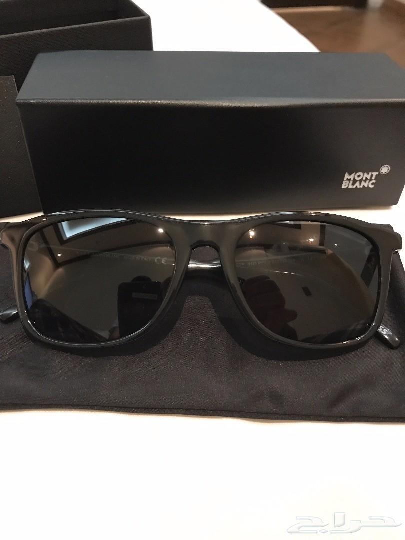0f1001a8a للبيع نظارة شمسية مونت بلانك أصلية جديدة