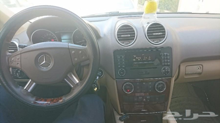 مرسيدس ML350 موديل 2008 جفال للبيع او البدل