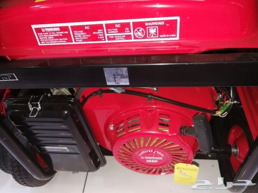مولد كهرباء بنزين 8 كيلو سوتش هندل اصلي وعملي