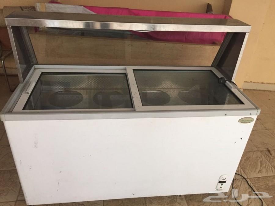 ثلاجة فريزر عرض للبيع