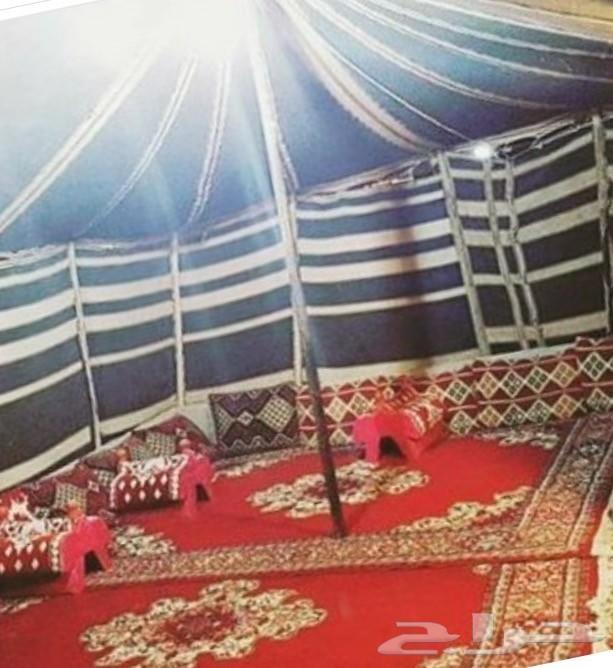 مخيم للإجار شمال الرياض طريق القصيم