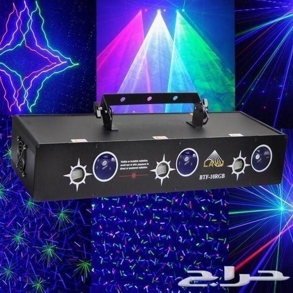 ليزر 6 عدسات - تشكيلة واسعة من الليازر