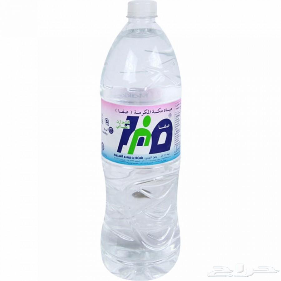 سعر كرتون مياه هنا ابو ربع