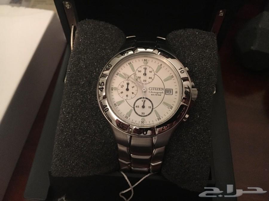 ساعة سيتزين كرونوقراف اصلية جديدة بعلبتها