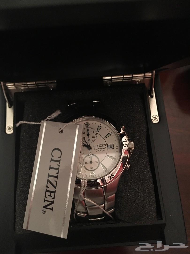 ساعة سيتزين كونوقراف اصلية جديدة بالكرتون