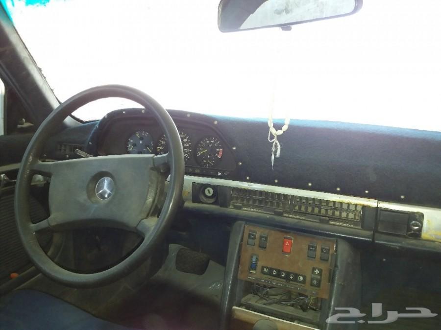 مرسيدس 500 SEL 1983