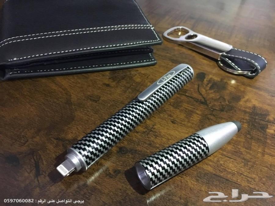 القلم الشحن لاجهزة الجوال 3 ميزات في قلم واحد