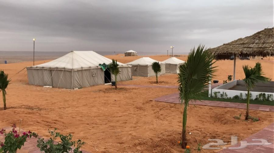 مخيم خاص في الطوقي الثمامة للايجار