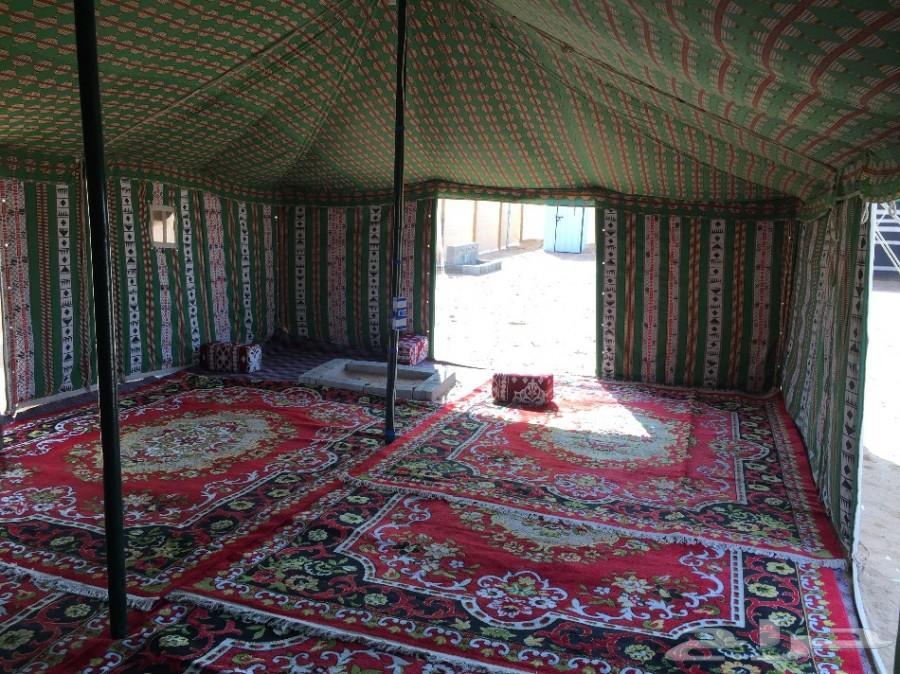 مخيم الضيافة بالغضاء