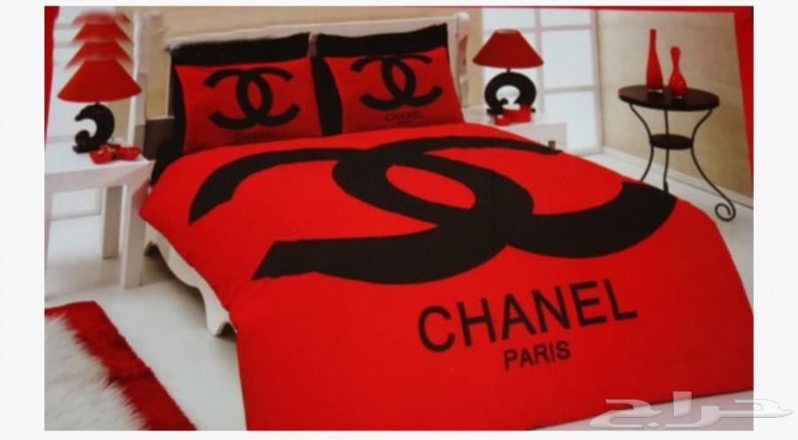 مفارش سرير من شانيل chanel