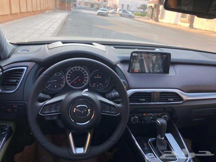 مازدا CX-9 جيب 2018 لون رمادي