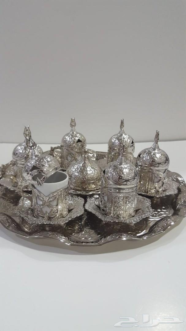 أطقم كاسات قهوة و شاي فاخرة تركية أصلية