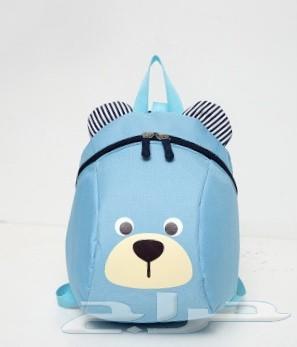 حقيبة اطفال مع حزام تأمين الطفل من الضياع 100
