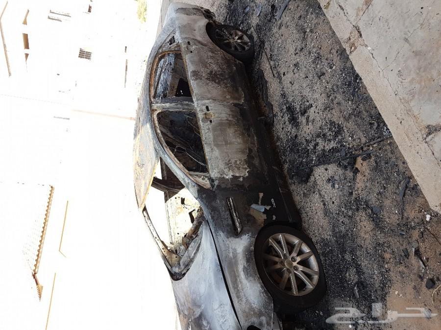 كابرس 2011 محترق