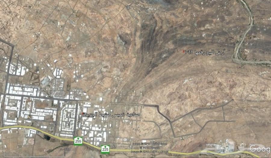 أرض تجارية للبيع خميس مشيط  600م2 أو للبدل