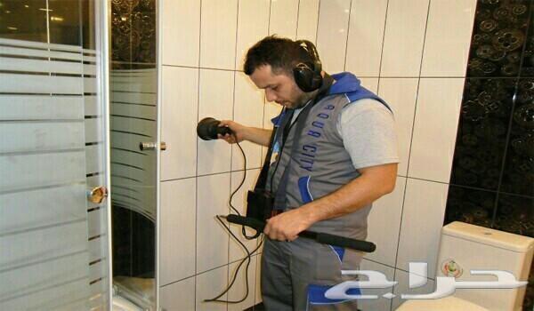 كشف تسربات المياة تسريب حمام مطبخ سطح خزانات