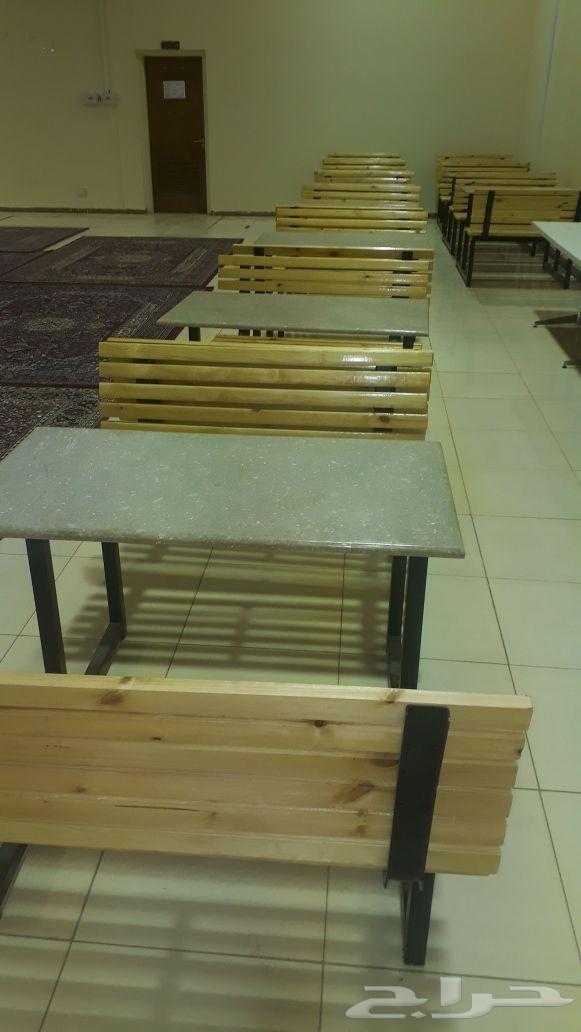 طربيزات وكراسي للمدارس والكافتيريات والمطاعم