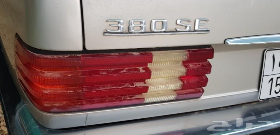 مرسيدس  1985  380SE
