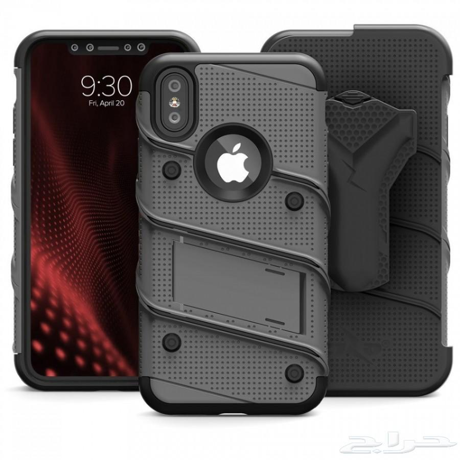 12 كفر أيفون أكس من iPhone x case Zizo