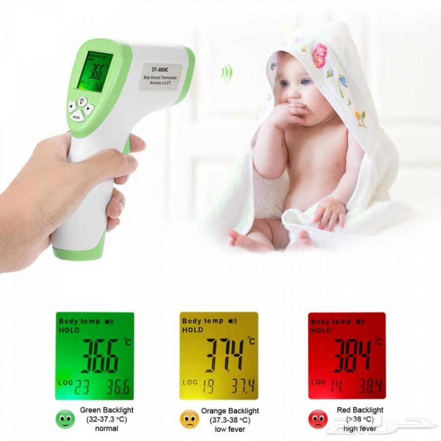 جهاز لقياس حرارة الجسم بالليز (بدون لمس )