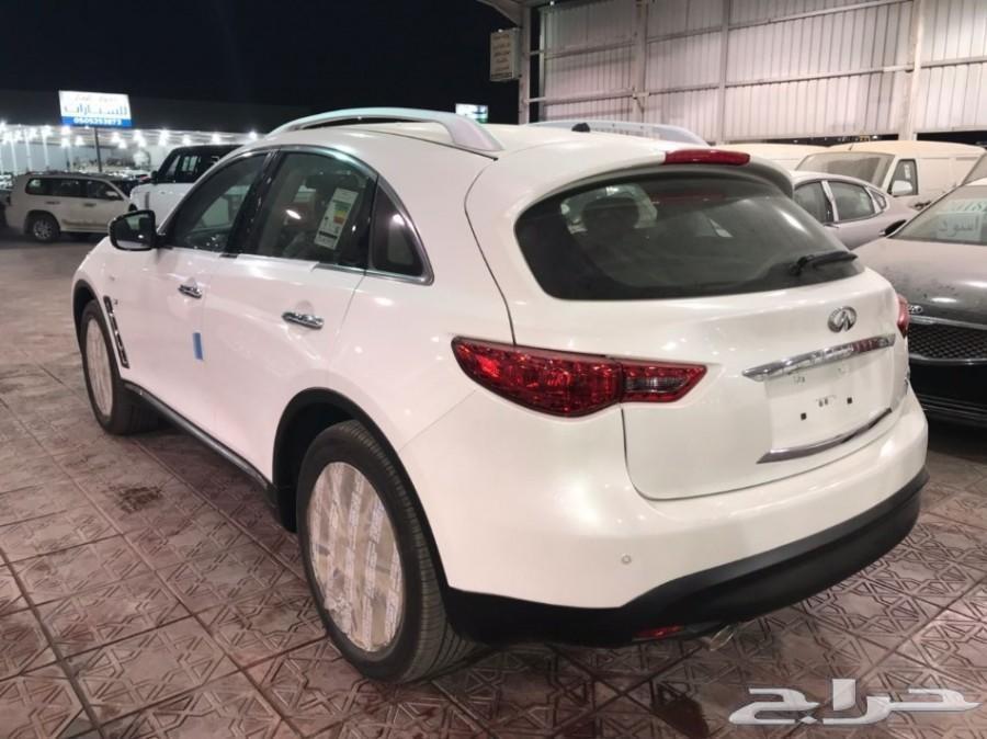 انفينتي QX 70موديل2017 ابيض شركة سما للسيارات