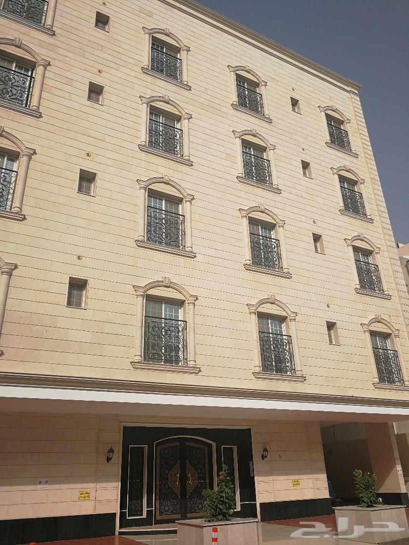 شقة فاخرة للايجار حي البوادي ((عمارة جديده ))