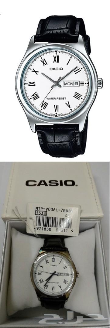 ساعات كاسيو CASIO تقنية ياباني جديدة حق العيد