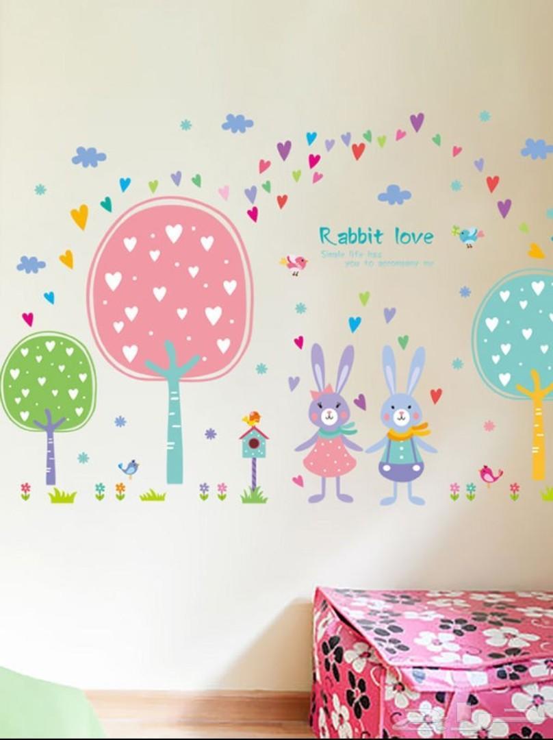 ملصقات حائط