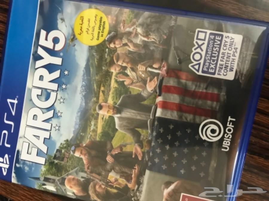 Far cry 5 مستعمل  لعبة فار كراي5