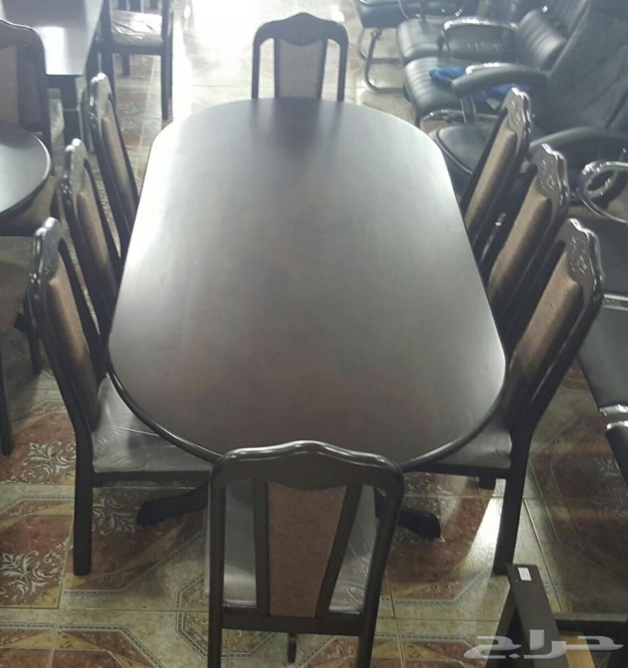 طاولات طعام خشب ماليزي فخمه