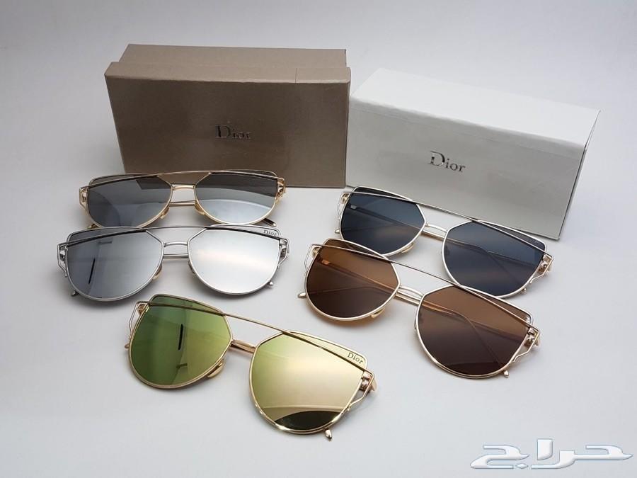 للبيع نظارات ماركات عالميه ب 85 ريال فقط