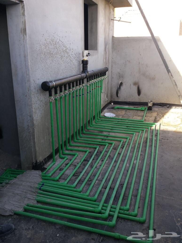 كشف تسريبات المياه حمامات مطابخ مسابح اسطح عو