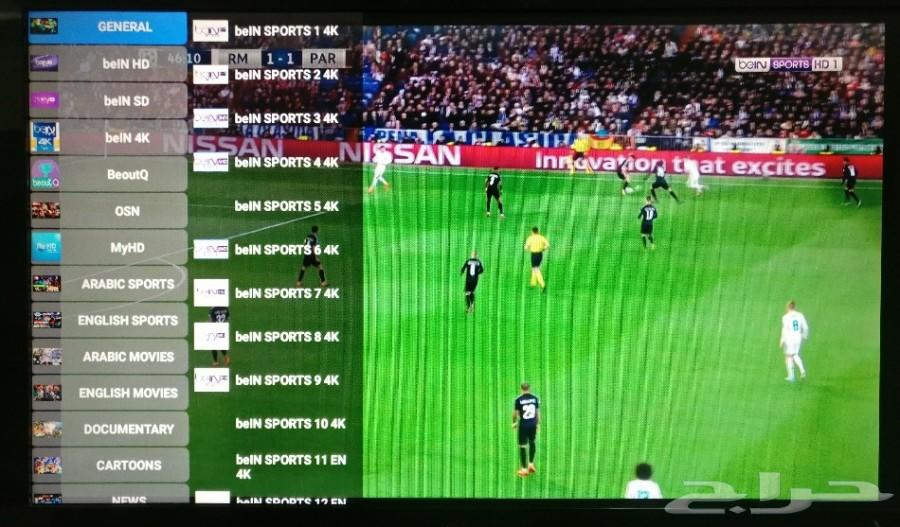 اشتراك IPTV ورسيفرات سمارت بنظام الاندرويد