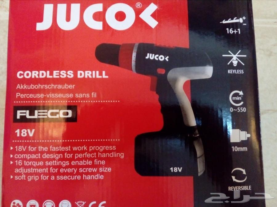 دريل شحن جوكو  18 فولت
