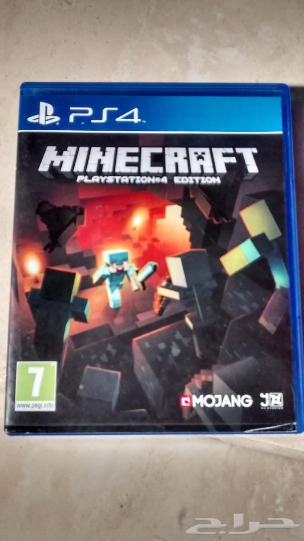 شريط سوني بلاي ستيشن PS4 للبيع لعبة ماينكرافت
