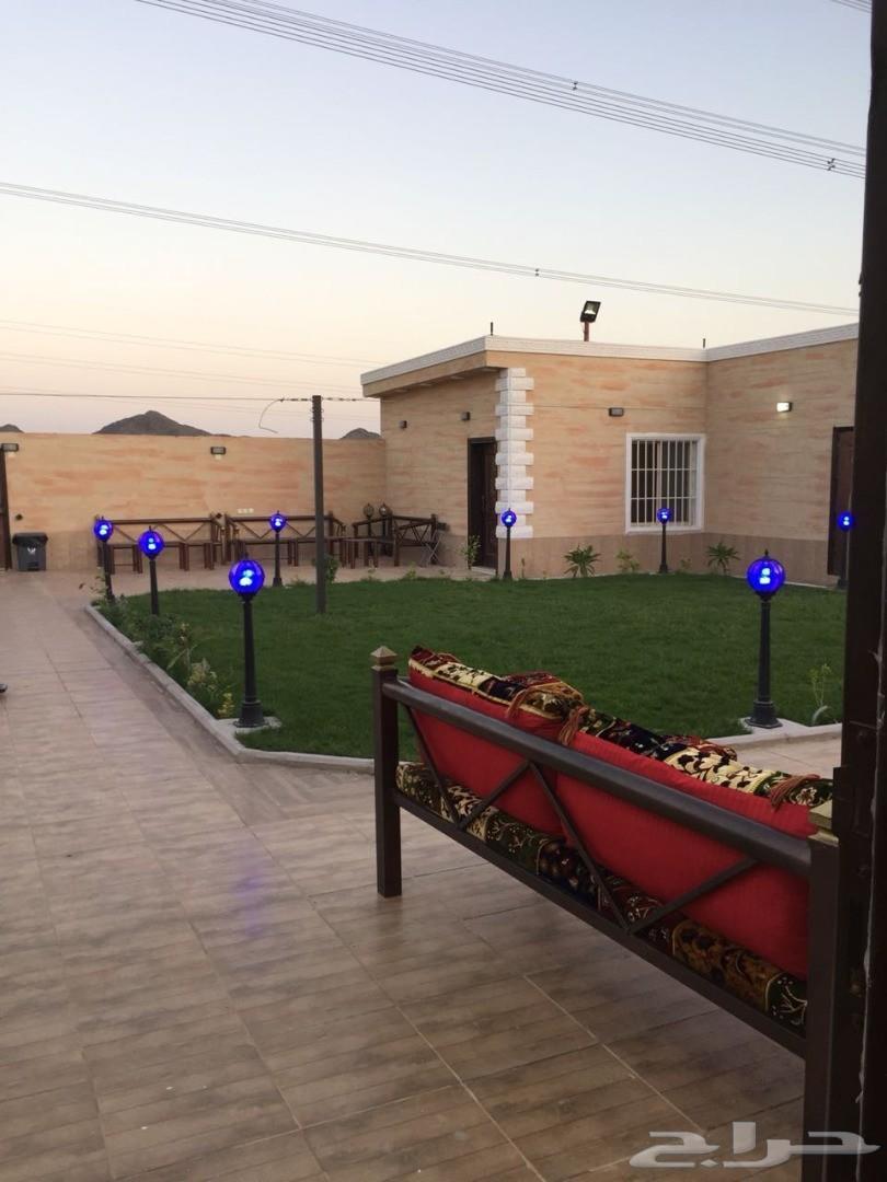 استراحة في مكة النورية  (فخمة و جديدة)