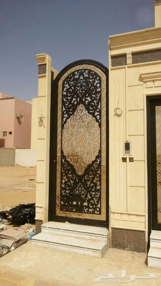 ابواب ودرابزين حديد عروض خاصة للعيد