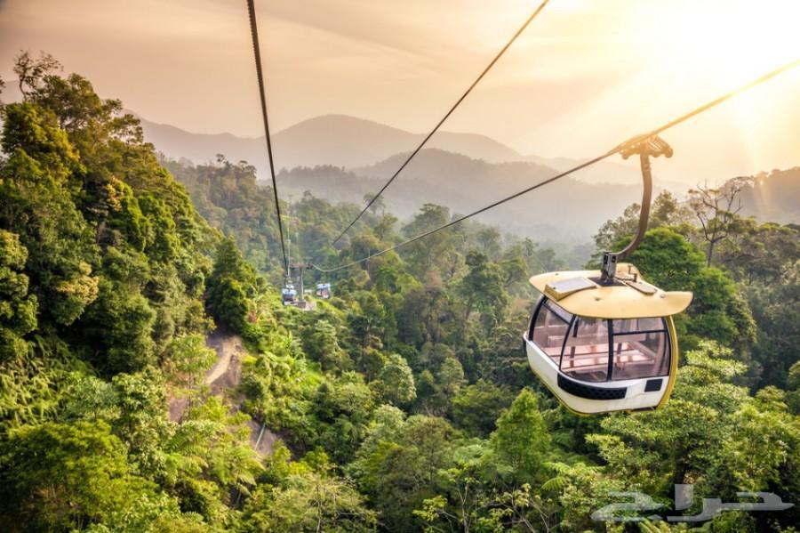 برنامج سياحي 13 يوم في ماليزيا 5 افراد 2018